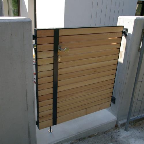 ET931 Gartentor mit Holz929