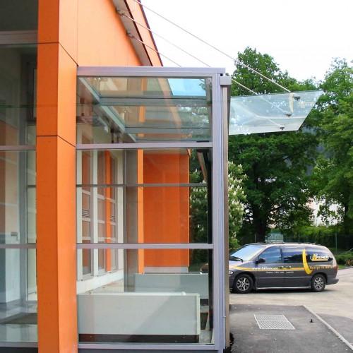 VD6778 Vordach von der Seite